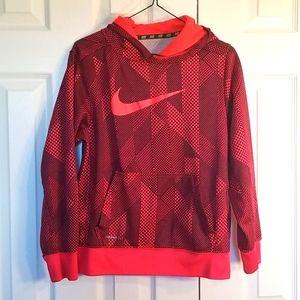 Nike boys Therma-Fit print hoodie